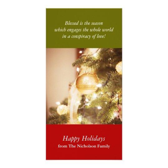 Holiday Tree Photo Card