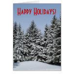 Holiday Trees Greeting Card