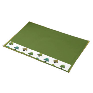 Holiday Trees Placemat
