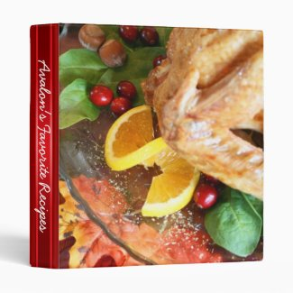 Holiday Turkey Favorite Recipe Binders