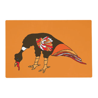 Holiday Turkey Laminated Placemat