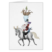 Holiday Vaulting Card