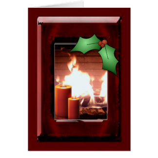 Holiday warmth stationery note card