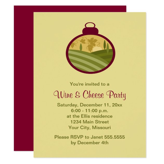 Wine And Cheese Party Invitations – gangcraft.net