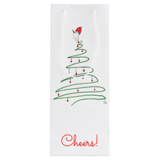 Holiday Wine or Gift Bag (You can Customize)