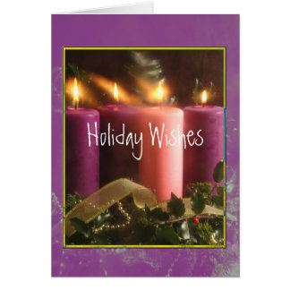Holiday Wishes Cards
