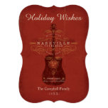 Holiday Wishes from Nashville 5x7 Paper Invitation Card