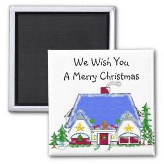 Holiday Wishes Magnet