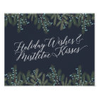 Holiday Wishes & Mistletoe Kisses Christmas Decor