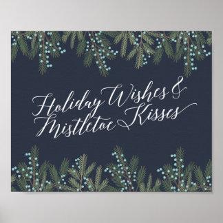 Holiday Wishes & Mistletoe Kisses Christmas Decor