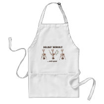 Holiday Workout Adult Apron