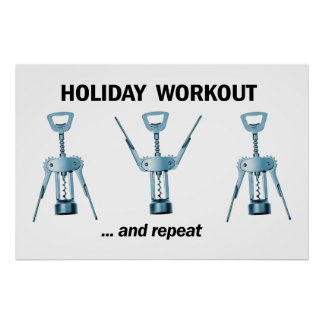 Holiday Workout Poster