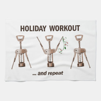 Holiday Workout Towel