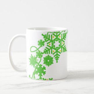Holiday Wreath Green Mug