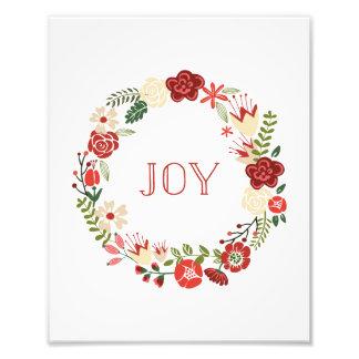 Holiday Wreath | Holiday Art Print Photo Print