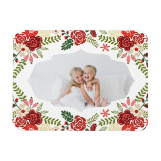 Holiday Wreath | Holiday Magnet