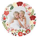 Holiday Wreath | Holiday Photo Card