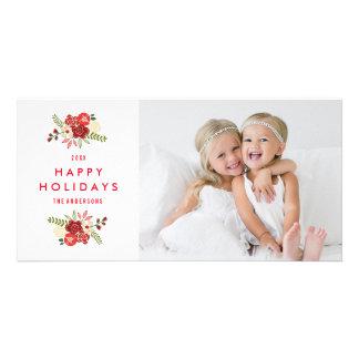 Holiday Wreath | Holiday Photocard Card