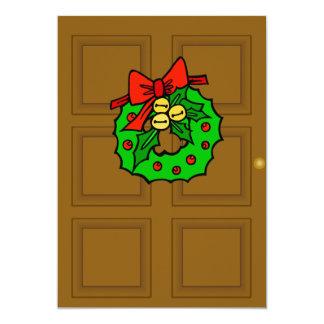 Holiday Wreath Invitation