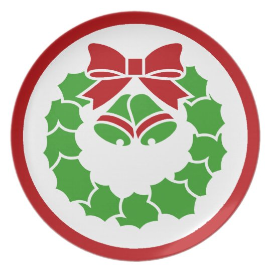 Holiday Wreath Plate