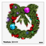 Holiday Wreath Wall Decal