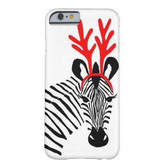 Holiday Zebra iPhone 6 case