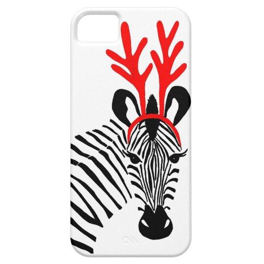 Holiday Zebra IPhone Case