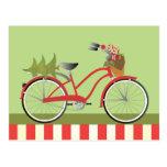 holidaybike1c postcard