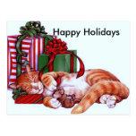 Holidays#2 feliz tarjeta postal