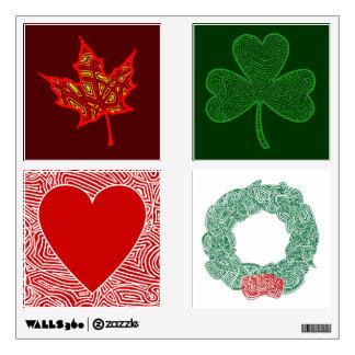 Holidays and Seasons Room Sticker