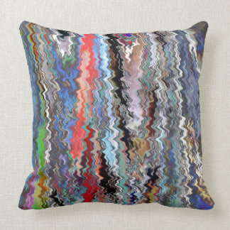 Holidays Artistic Graphic Waves TEMPLATE Resellers Pillow