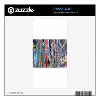 Holidays Artistic Graphic Waves TEMPLATE Resellers iPhone 4S Skin