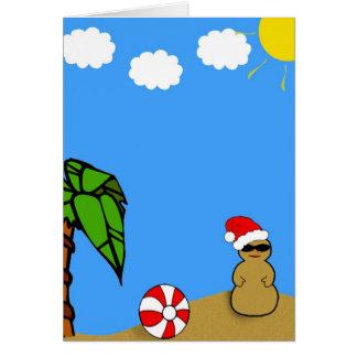 Holidays At the Beach Card