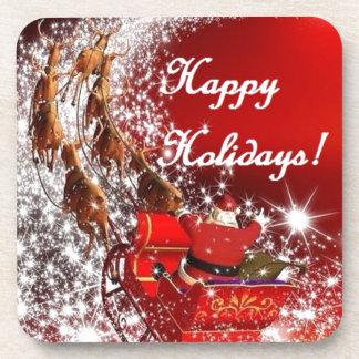 Holidays Beverage Coasters