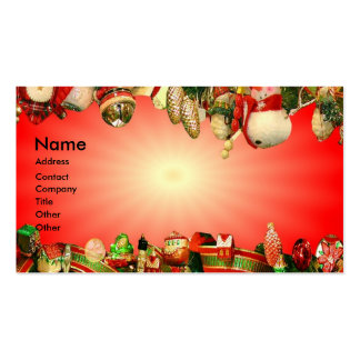 Holidays Business Cards