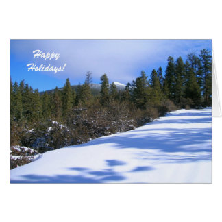 Holidays Card. Trip to Hager Mountain Fire Lookout Card