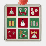 Holidays Collage Ornament