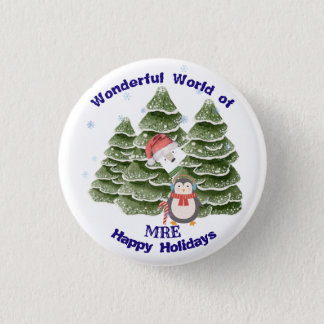Holidays Festive School Botton Button