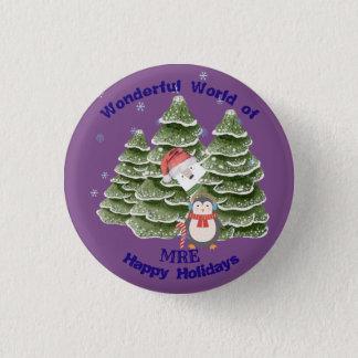 Holidays Festive School Botton Pinback Button