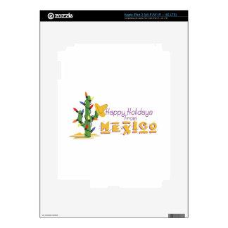 Holidays From Mexico! iPad 3 Skins