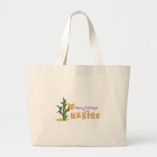 Holidays From Mexico! Large Tote Bag