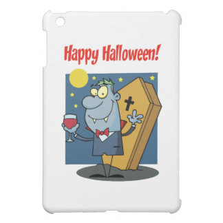 Holidays Greeting With Halloween Vampire iPad Mini Cover