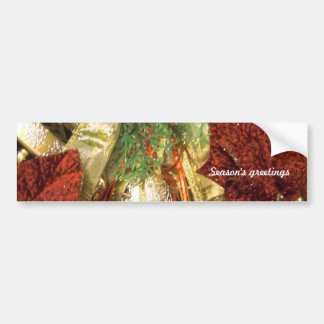 Holidays Greetings_ Bumper Sticker