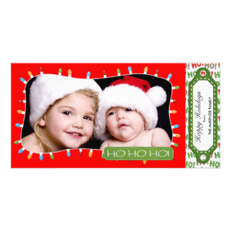Holidays Hoopla Photo Cards