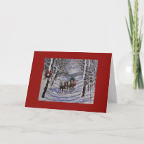 HOLIDAYS IN THE COUNTRY, GREETING CARD