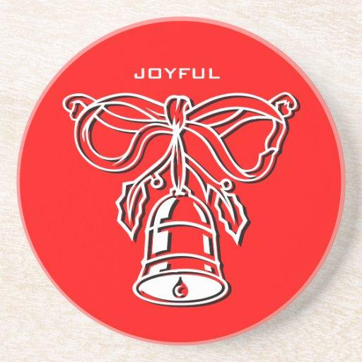 Holidays Joyful Coaster Bell