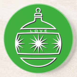 Holidays Love Coaster Ornament