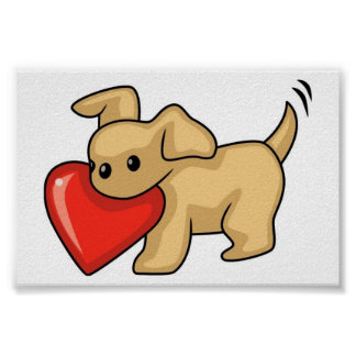 holidays love hearts heart puppies puppy dog dogs posters