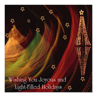 Holidays On Twin lakes Card