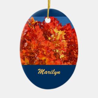 Holidays Ornaments Employees Names custom Compnay